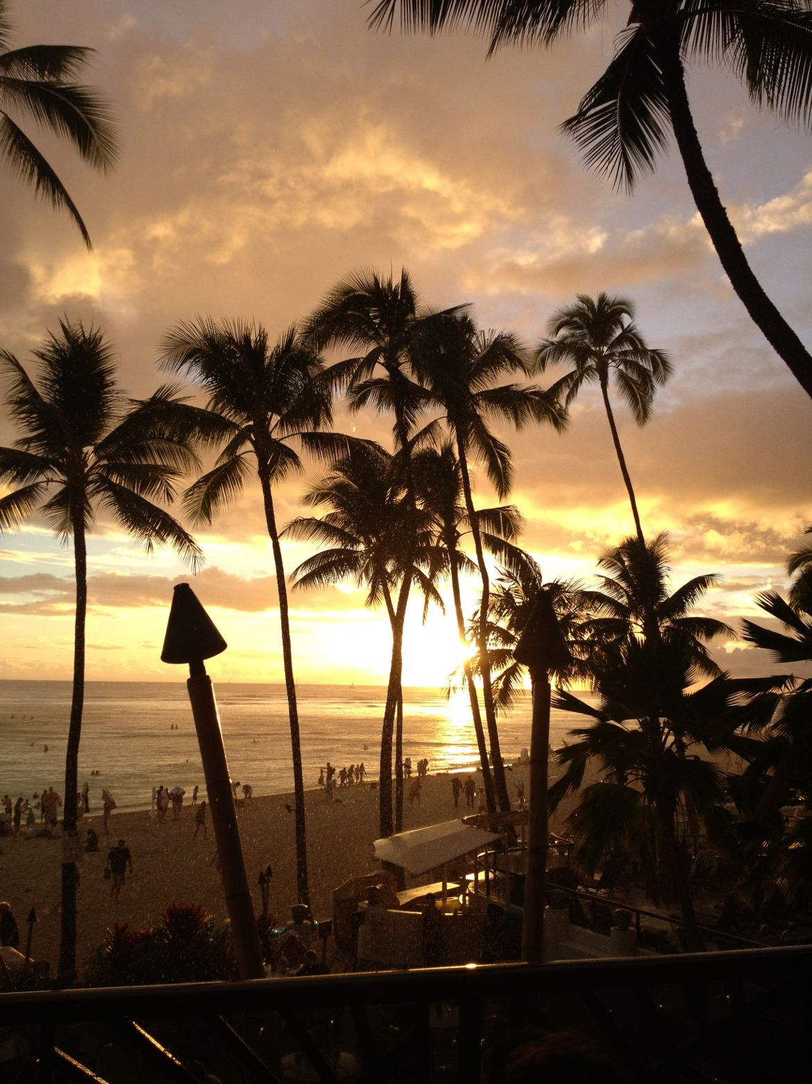 all inclusive hawaii sunset