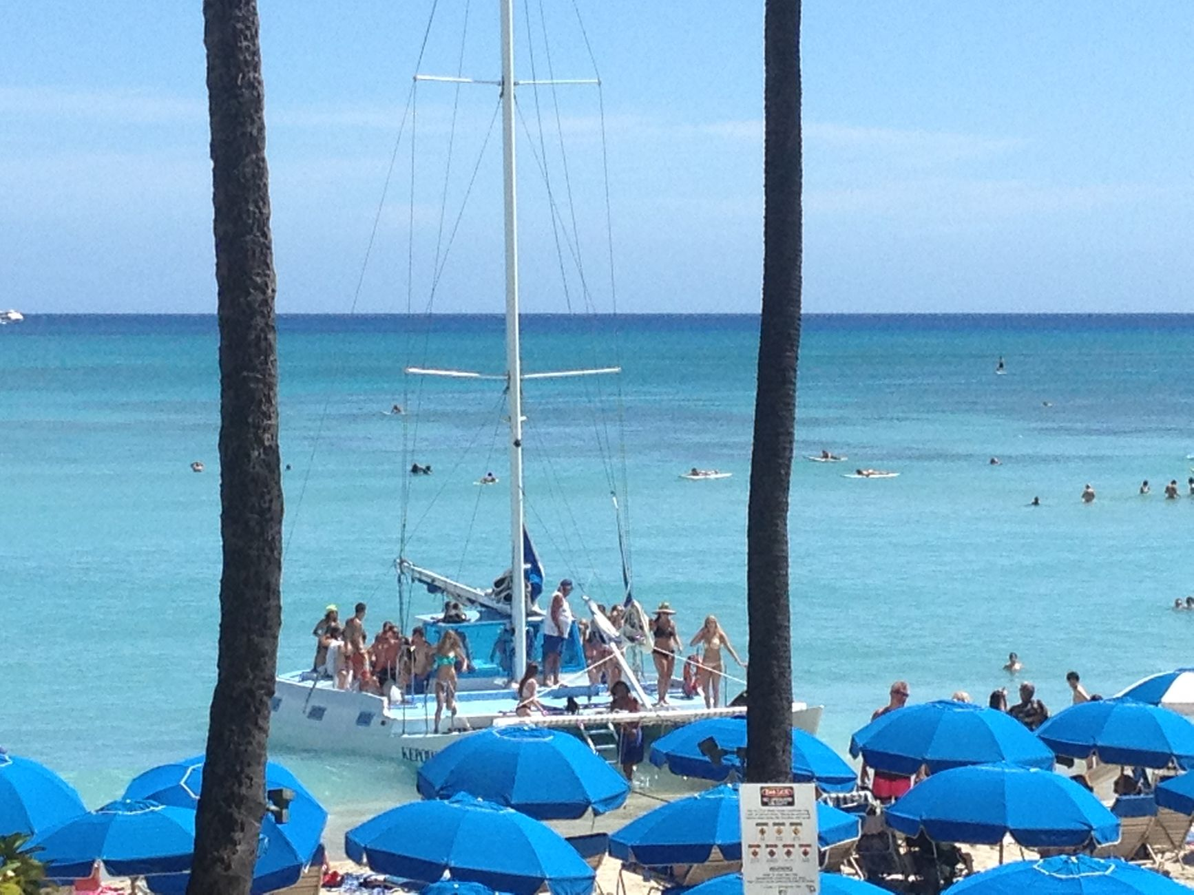 waikiki all inclusive barefoot catamaran sail 3